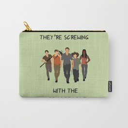 The Walking Dead - Carl, Rick, Michonne, Glenn, Daryl Carry-All Pouch