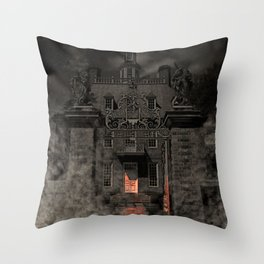 Why don't you come inside? Throw Pillow