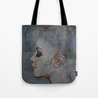 ballerina Tote Bags featuring Ballerina by Michael Creese