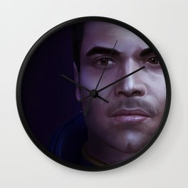 Mass Effect: Kaidan Alenko Wall Clock