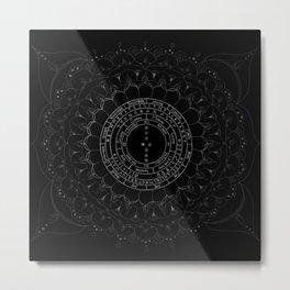 Pendulum Reading Cloth by WildOne Metal Print