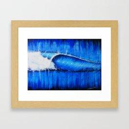 intenso  Azul Framed Art Print