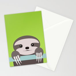 Sloth Baby Stationery Cards