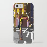 broadway iPhone & iPod Cases featuring BROADWAY KISS by Alfred Fox Art & Photography