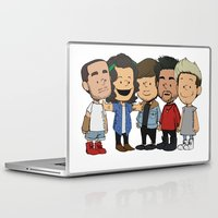 1d Laptop & iPad Skins featuring Schulz 1D by Ashley R. Guillory
