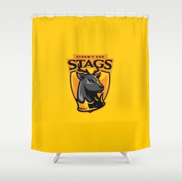 Storm' End Stags Shower Curtain
