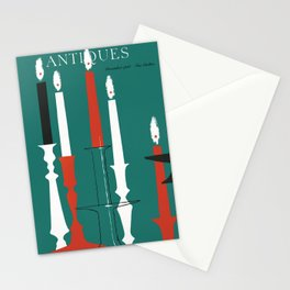 The Magazine ANTIQUES December 1961 cover Stationery Cards