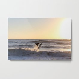 Against the Sun Metal Print