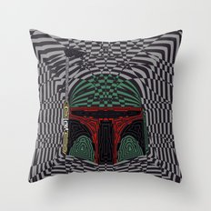 Boba Effect Throw Pillow