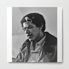 ㄣ0ᄅoqǝǝp Barack Hussein Obama II - 44 Society6 Online Photography 1st Black President 1 Metal Print