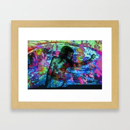Untitled: Projection Series #20 Framed Art Print