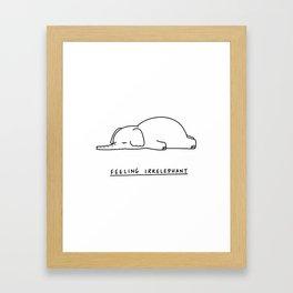 Irrelephant Framed Art Print