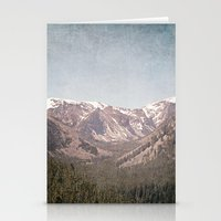 montana Stationery Cards featuring Montana Blues by CMcDonald