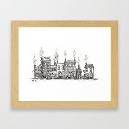 A charming block Framed Art Print