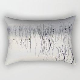 Waiting for the night Rectangular Pillow