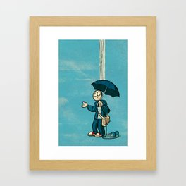 The Li'l Depressed Boy:  Lonely Heart Blues Framed Art Print