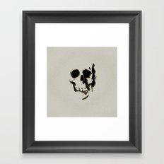 skull #06 Framed Art Print