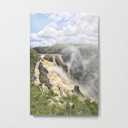 Barron Falls under a summer sky Metal Print