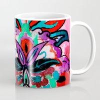 ruby Mugs featuring Ruby by Sonal Nathwani