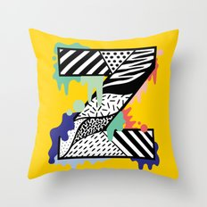 Z for …. Throw Pillow