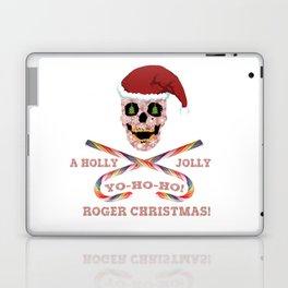 Holly Jolly Roger Xmas Laptop & iPad Skin