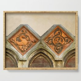 Venetian Architectural Elements Serving Tray