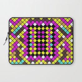 Mosaic X - Abstract, tiled, mosaic, geometric pattern Laptop Sleeve