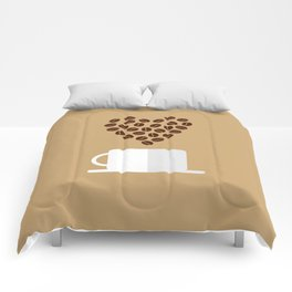 For the Love of Coffee Comforters