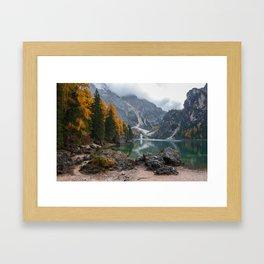 Dolomites 11 - Italy Framed Art Print