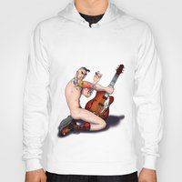 rockabilly Hoodies featuring Rockabilly by drubskin