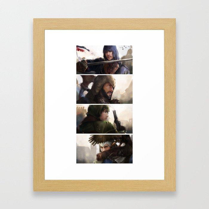 Assassin's Creed unity Framed Art Print