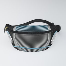 1930s Style Street Rod Car Grill Fanny Pack
