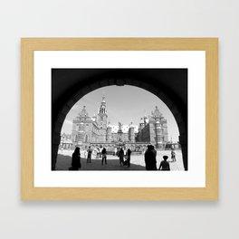 Frederiksborg Palace in Denmark  Framed Art Print