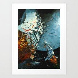 The Battle for Proxima Centauri Art Print