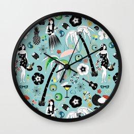 Aloha (Mid century) Wall Clock