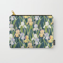 Night Irises Carry-All Pouch