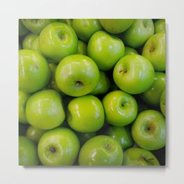 green-apples Metal Print