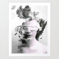 grunge Art Prints featuring Grunge by Shepherd Norman