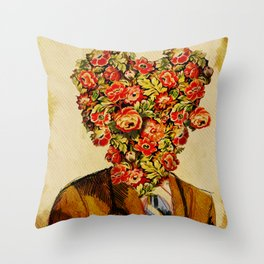Dr. Amor Throw Pillow