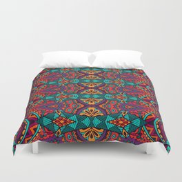 Boho Geometric Pattern 12 Duvet Cover