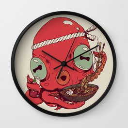 Spicy Ramen Wall Clock