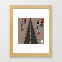 Headless Robot Abtract Framed Art Print