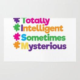 Always Unique Totally Intelligent Autism Rug
