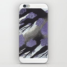 Purple Cherry Blossoms (1 of 3) iPhone Skin