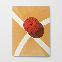 BALLS / Basketball (Indoor) Metal Print