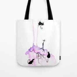 The progress of Growth Tote Bag