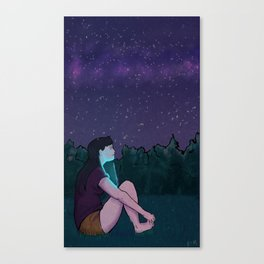 Perseids Canvas Print