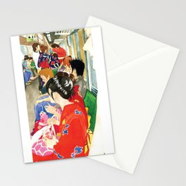 Back from the Gion Matsuri Stationery Cards