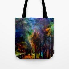 Forêt Nuit Tote Bag
