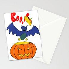 Halloween Bat  Stationery Cards
